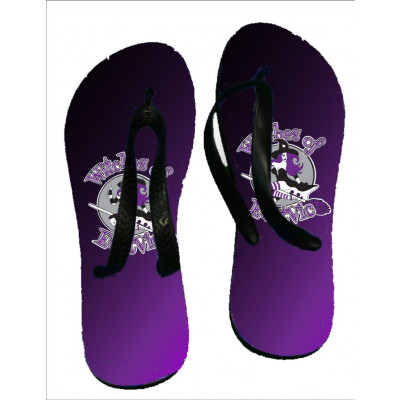 EVRD Witches Flip Flops